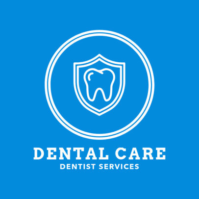 Dentist Services Logo Maker 1489e