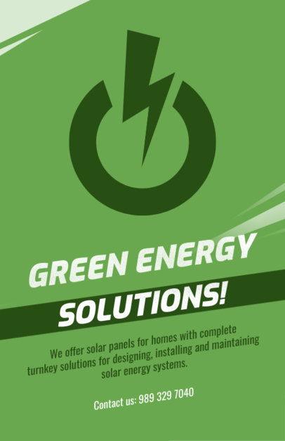 Flyer Maker for Eco Electrical Services 728d