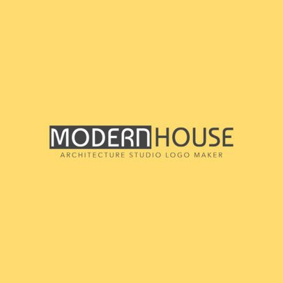 Modern Architecture Logo Template 1263c