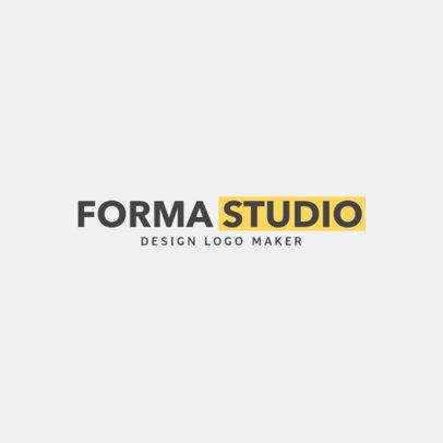 Logo Template for Architect Studio 1263e