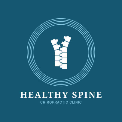 Spine Specialist Logo Design Template 1493a