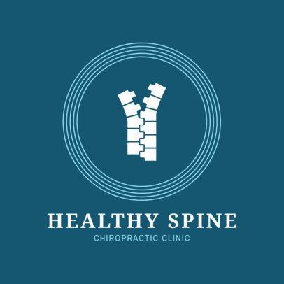Spine Specialist Logo Design Template 1493a