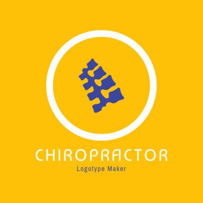 Chiropractor Logo Generator 1493d