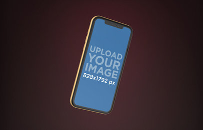 Colorful iPhone Mockups