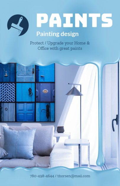Painting Design Flyer Maker 719b