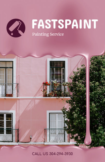 Flyer Generator for Painting Company 719c