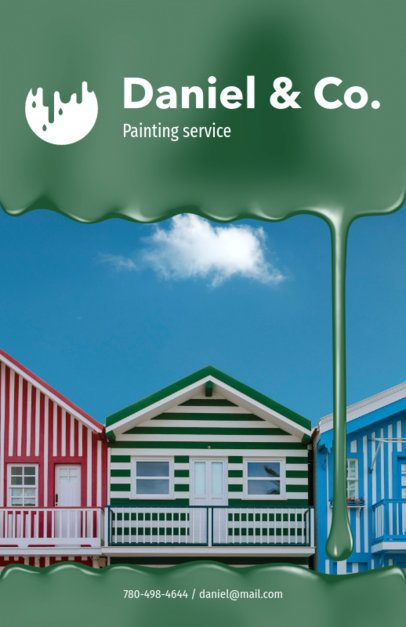 Colorful Painting Flyer Maker 719d