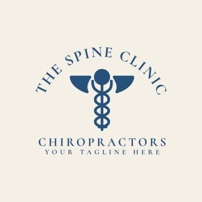 Spine Clinic Logo Generator 1491a