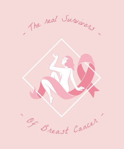 Breast Cancer Awareness T Shirt Design Maker 738