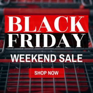 Banner Template for Black Friday Weekend Sale 748e