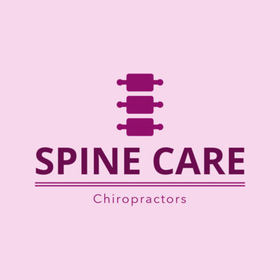 Spine Doctor Logo Maker 1494c