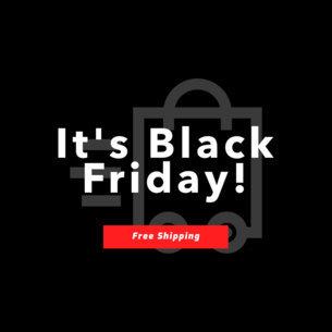 Black Friday Sale Online Banner Maker 744c