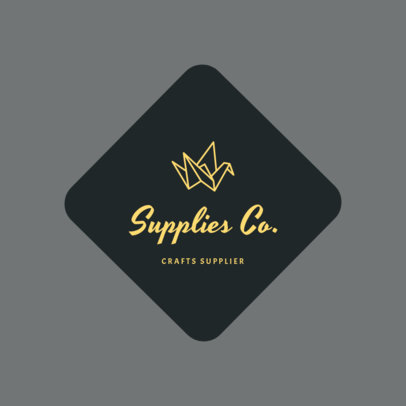 Craft Suppliers Logo Template 1277b