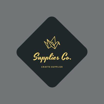 Craft Suppliers Logo Template 1277b