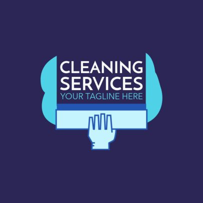 Professional Window Cleaning Logo Maker 1446b