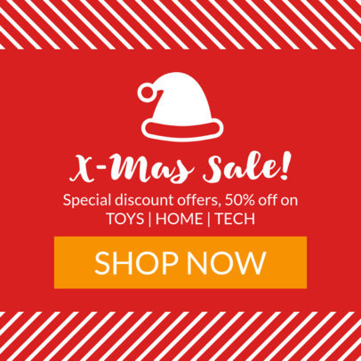 X-Mas Sale Banner Maker 777