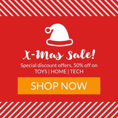 X-Mas Sale Banner Maker 777