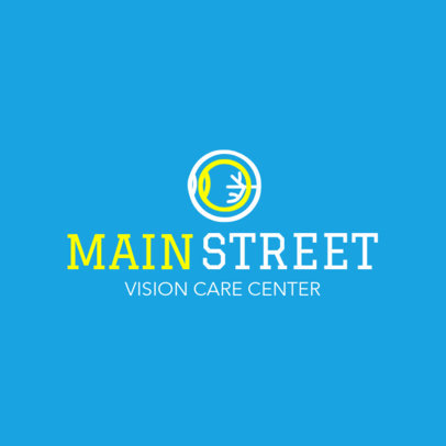 Logo Generator for a Vision Care Center 1514b