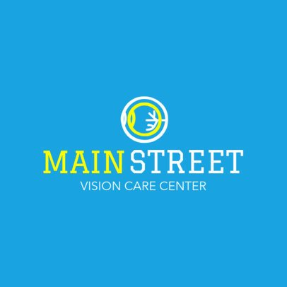 Logo Generator for a Vision Care Center 1514b