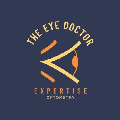Optometry Expert Logo Creator 1515a