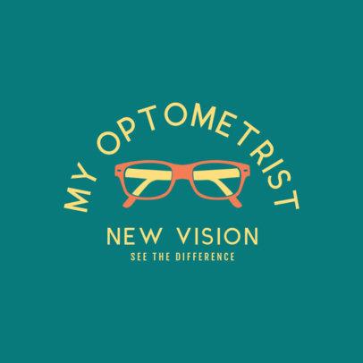 Optometry Specialist Logo Generator 1515e
