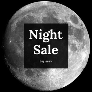 Night Sale Ad Maker 752c