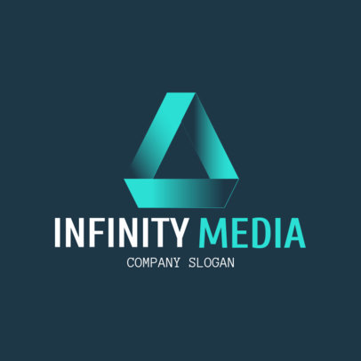 Corporate Logo Maker for a Media Company 1521a