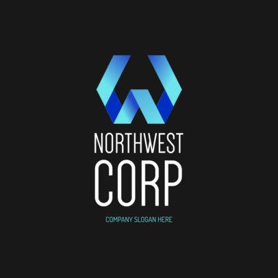 Corporate Logo Creator with a Monogram 1521d