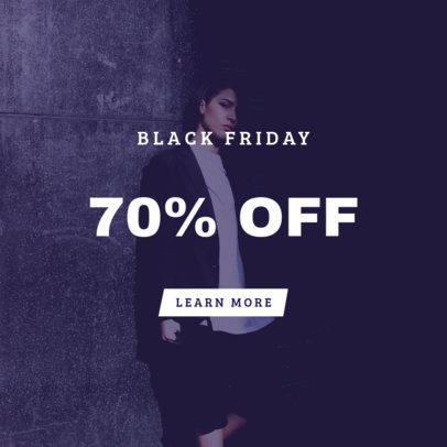 Black Friday Online Banner Maker for a Huge Discount Offer 754b