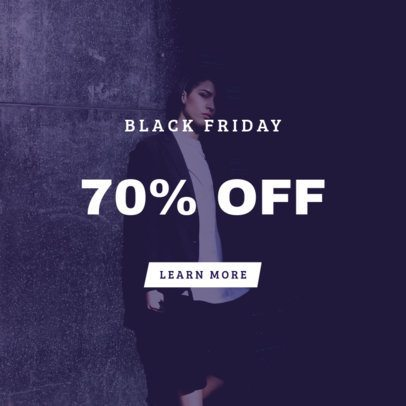 Black Friday Online Banner Maker for a Huge Discount Offer 754b
