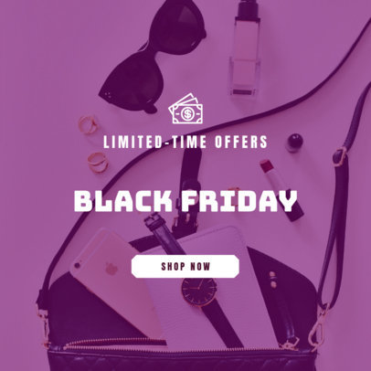 Limited Time Offer Online Banner Template