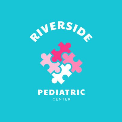 Logo Generator for a Pediatric Doctor 1532e