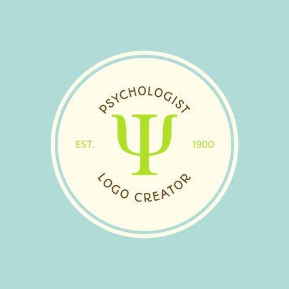 Psychologist Logo Creator 1525