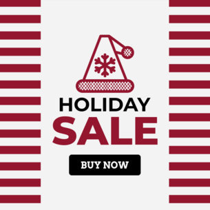 Holiday Sale Ad Design Template 784a