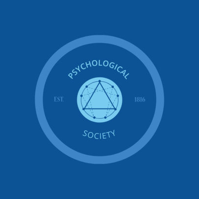 Logo Maker for a Psychological Society 1525d