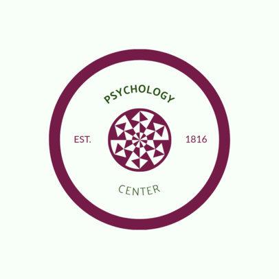 Psychology Center Logo Creator 1525e