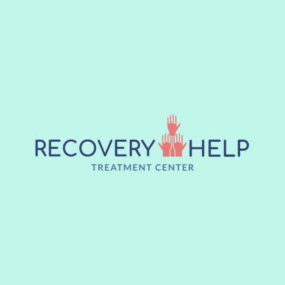 Rehab Logo Design Maker for a Rehab Clinic 1502a 1502a