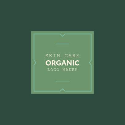 Logo Creator for Organic Skin Care 1159b
