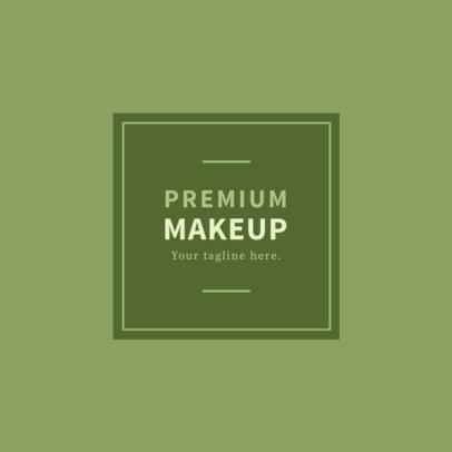 Premium Makeup Brand Logo Maker 1159e