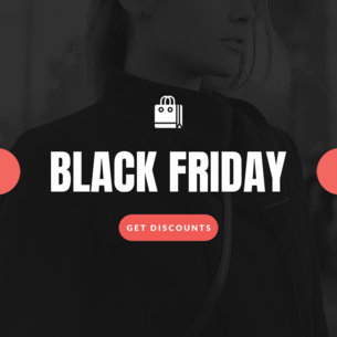 Ad Banner Maker for a Black Friday Promo 746a