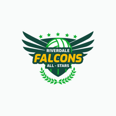 Logo Generator for a Volleyball Team 1512e