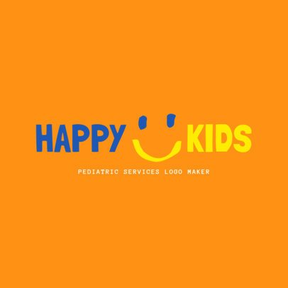 Logo Maker for Pediatric Services 1534e