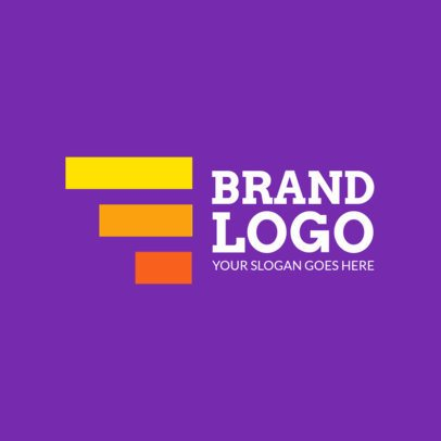Brand Logo Maker with Abstract Shapes 1519d