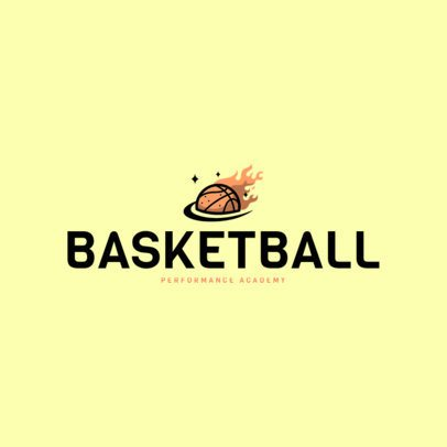 Basketball Logo Design Template 1498