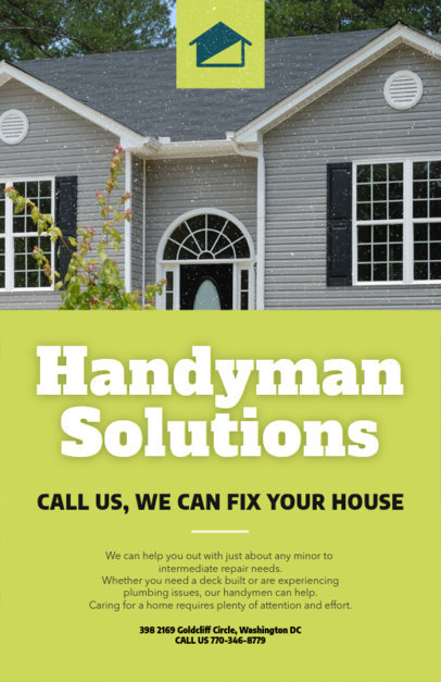 Handyman Solutions Flyer Maker 739a