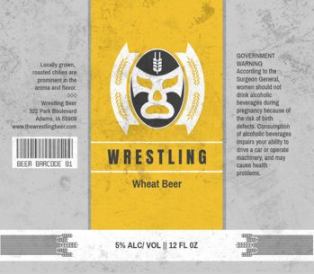 Wrestling Themed Beer Label Maker 765d