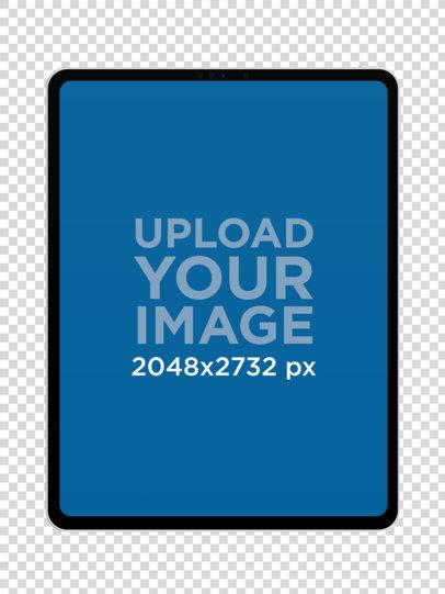 Minimalist iPad Pro Mockup 23624