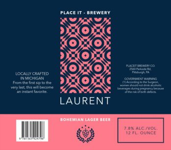 Lager Beer Label Template 773c
