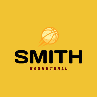 Basketball Logo Design Maker 1498d