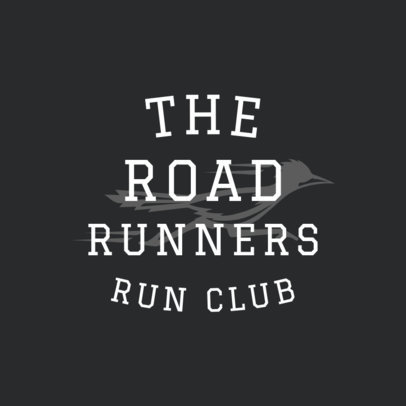 Running Logo Creator for Running Clubs 1542a
